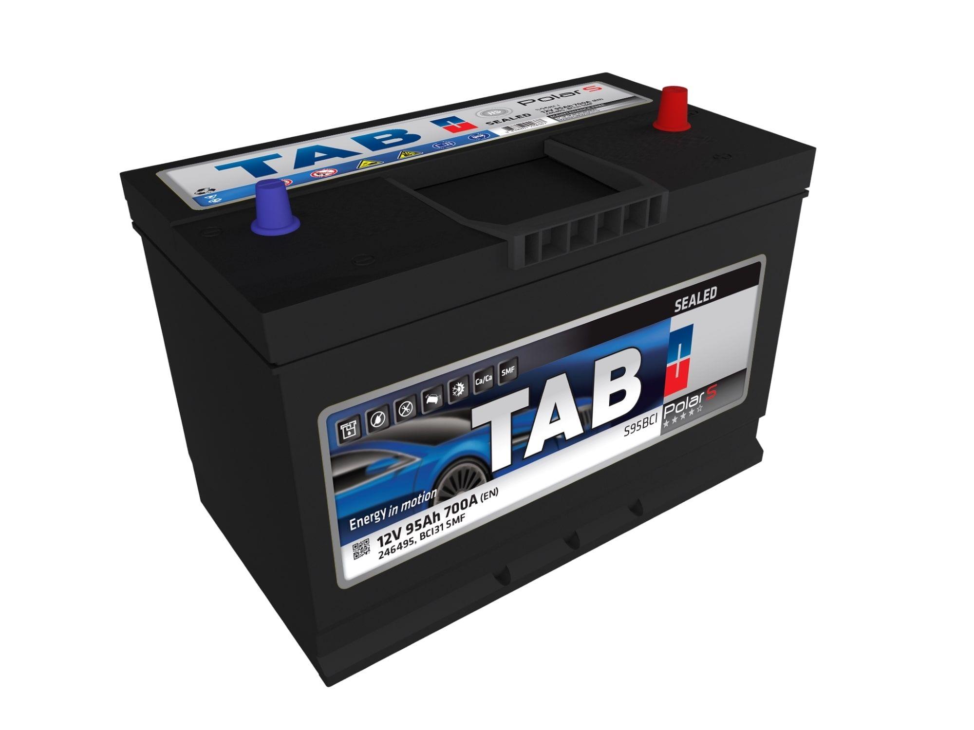Baterías de Borne Centrado