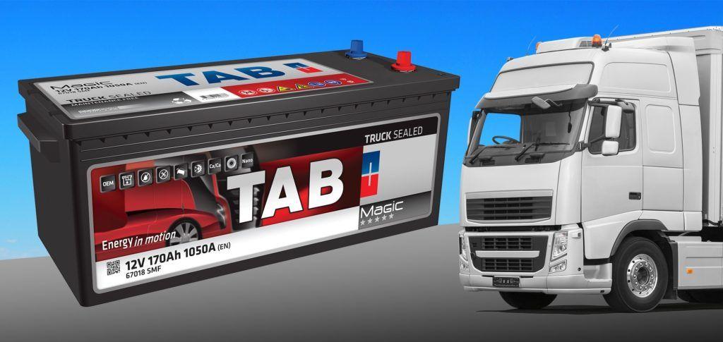 TAB Spain mejora sus baterías para camión
