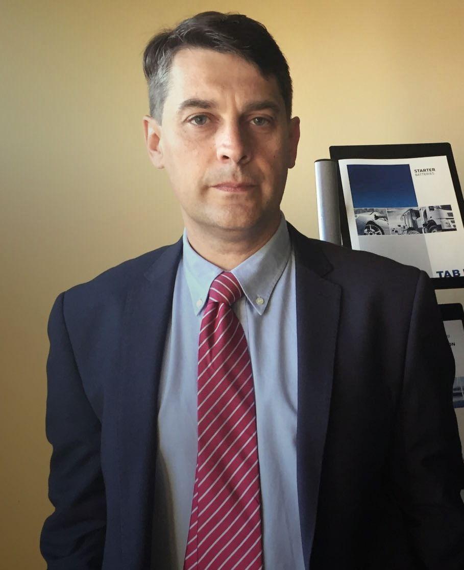 El director comercial de Industriales de TAB Spain, Jorge Acebal.