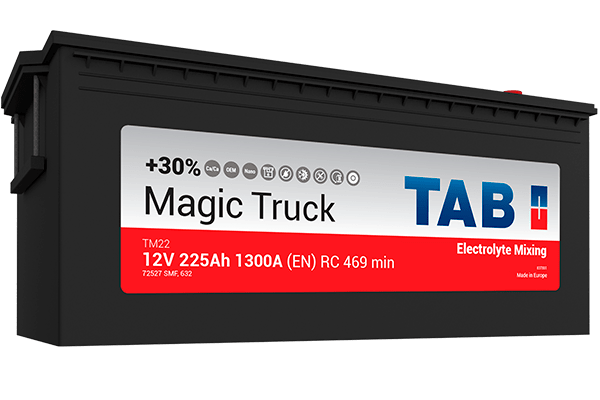 TAB Batteries - Magic Truck