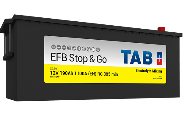 TAB Batteries - Truck EFB