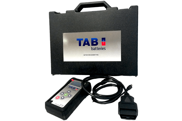 TAB Batteries - Replace tools