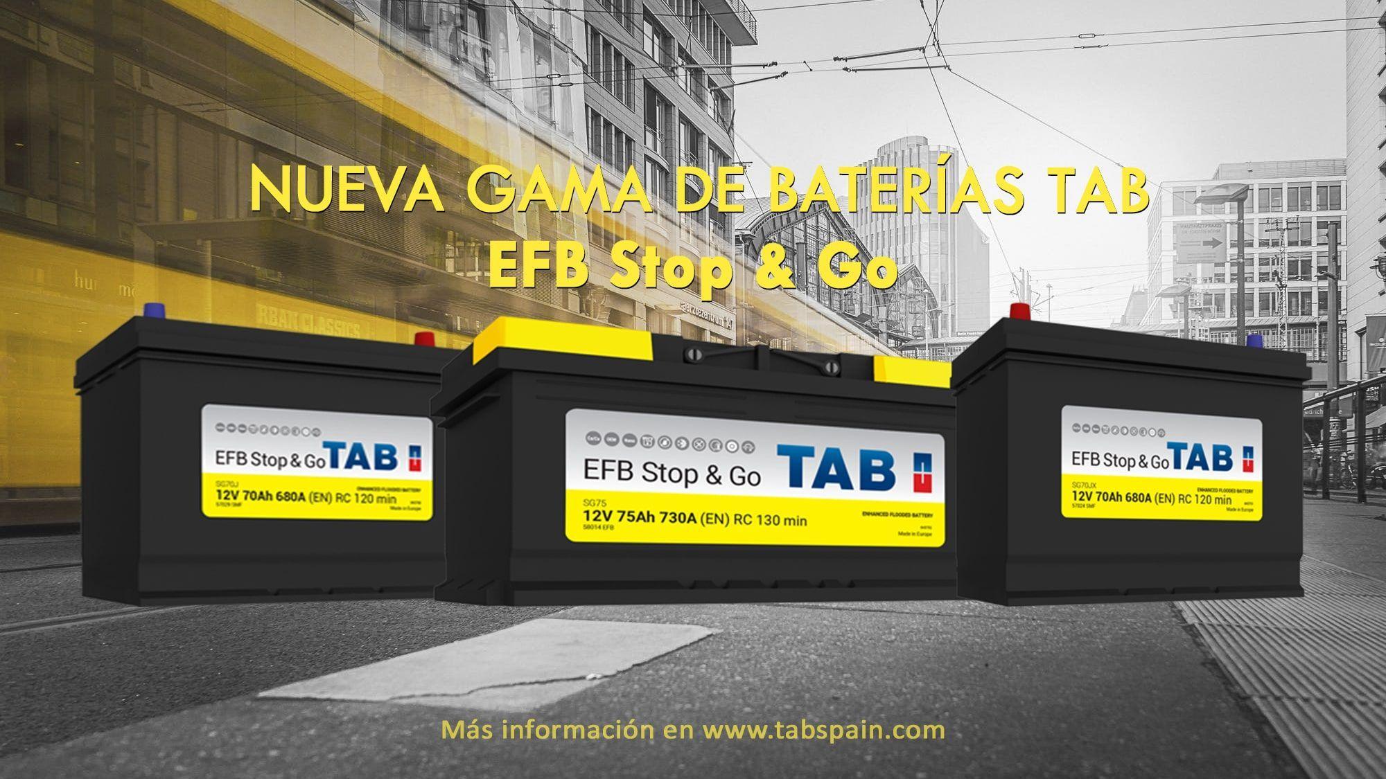 Las nuevas TAB EFB Stop&Go