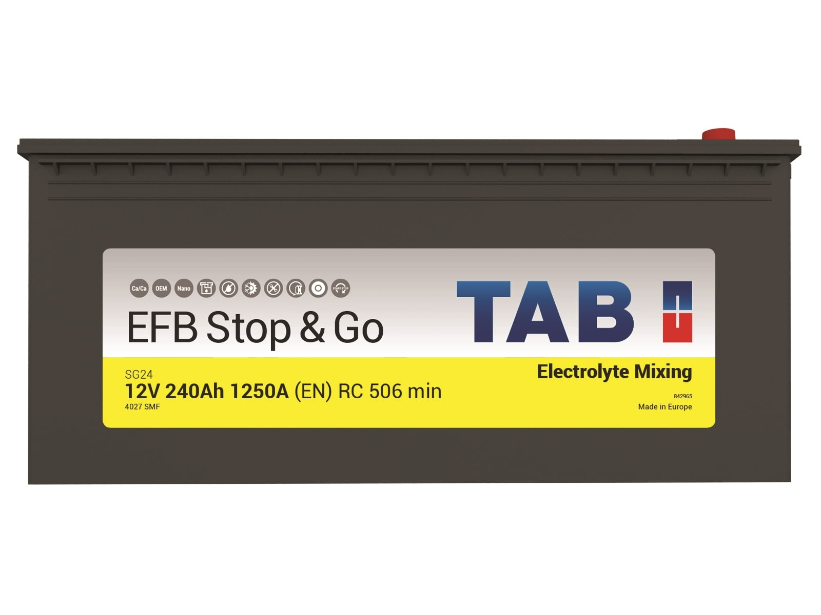 Batería EFB Caja C
