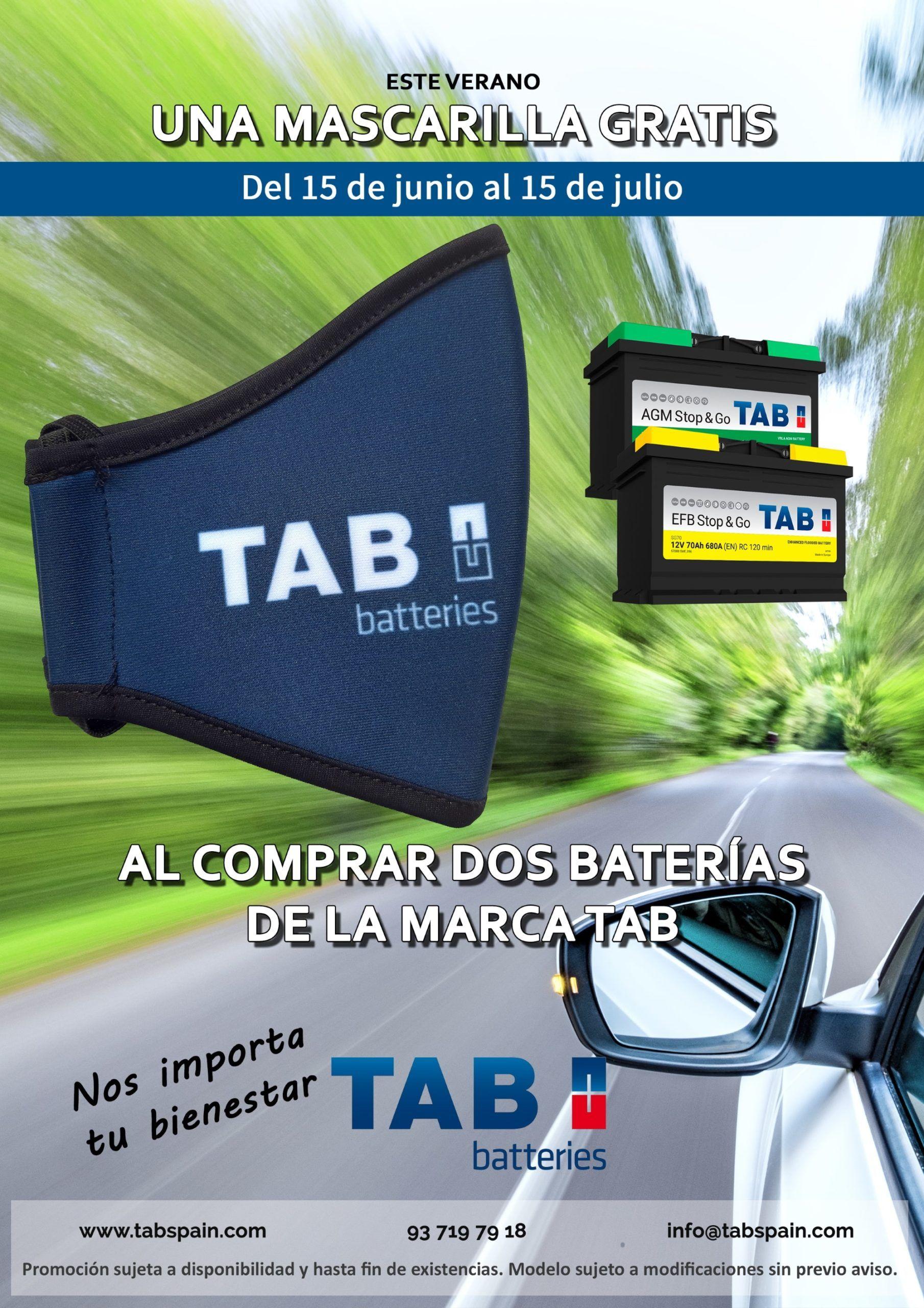 TAB Batteries lanza su campaña de verano 2020