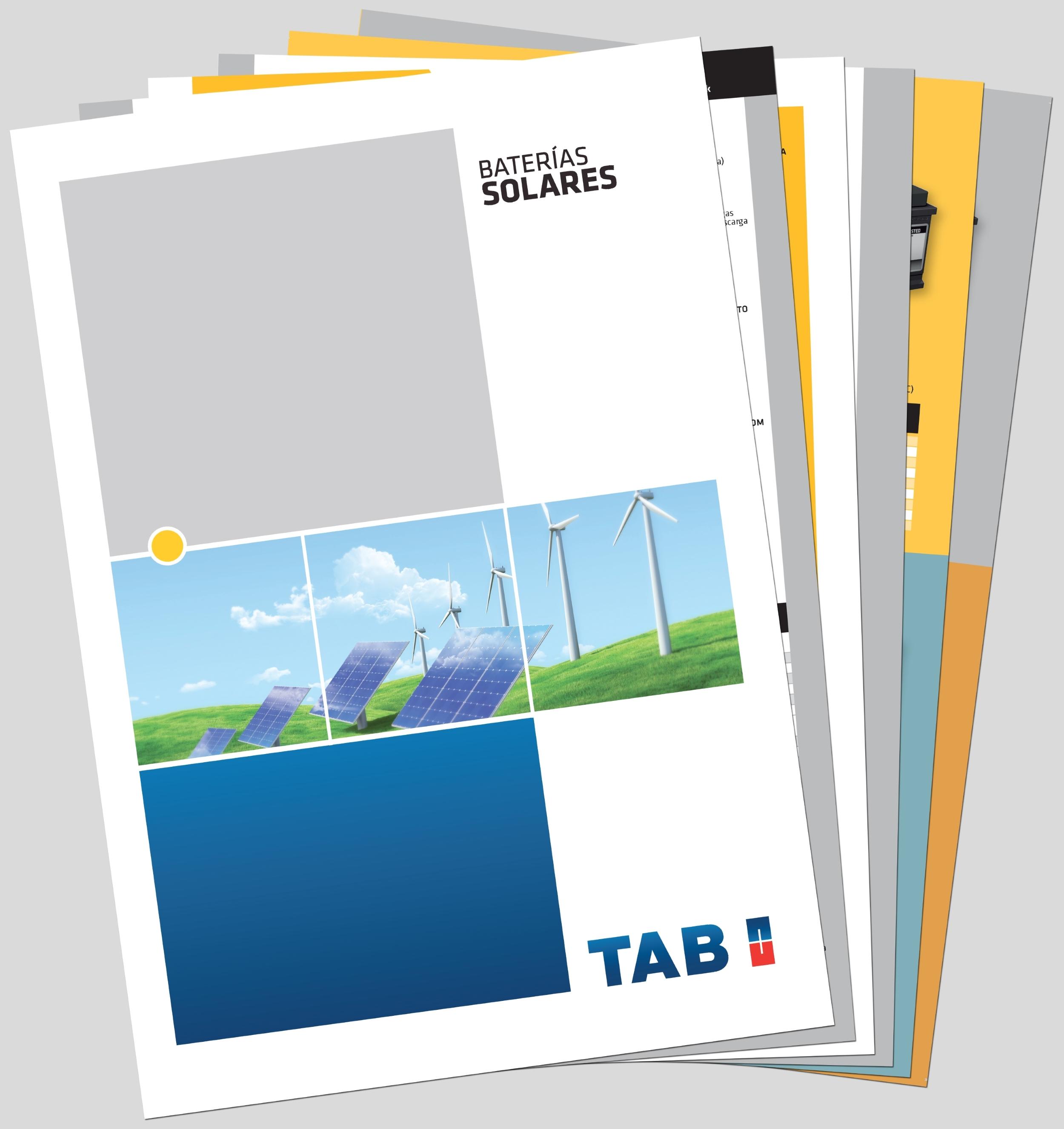 61e6e4f8d1 TAB Batteries presenta la versión portuguesa e inglesa de su Catálogo Solar  de baterías