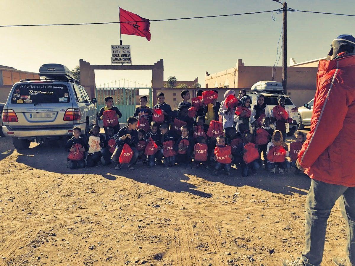Colaboración ONG 4x4 Acción Solidaria