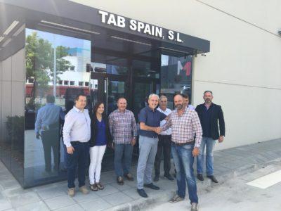 Joan Alcaraz y Marco Veira, directores de TAB Spain e Interveira