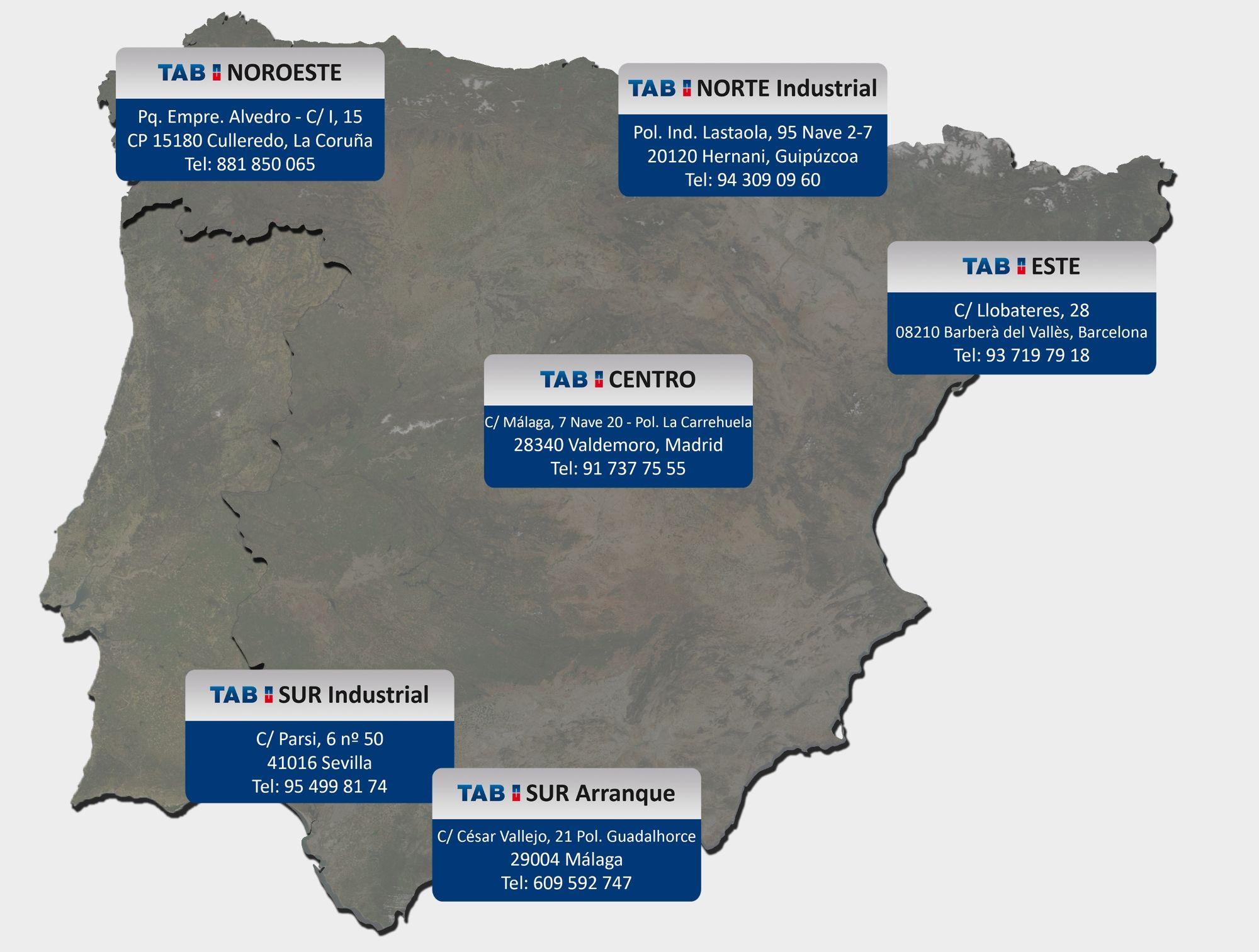 TAB Spain cambia su sede de TAB Centro