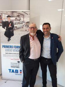 Federico Martínez y Raúl Pacho.