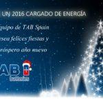 Tab Spain le desea un próspero 2016